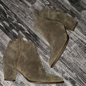 Madewell Lather ankle boots booties size 7.5